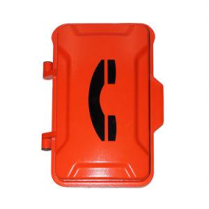 Casella di chiamata industriale esterna di vendita calda con il microtelefono nero di colore