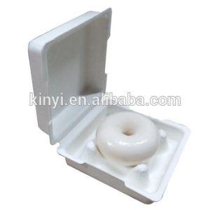 Одноразовые мякоти бумаги с литыми багассы волокна упаковке