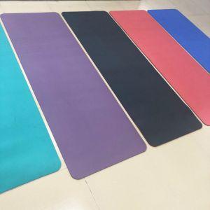 Горячая продажа пилатес высокого качества работы фитнес-TPE йога коврик