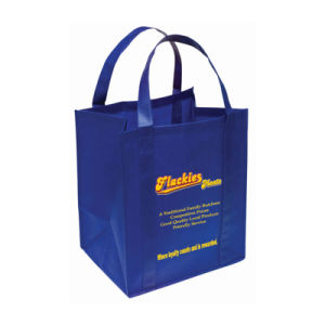 Los grandes supermercados Non-Woven reutilizables Bolsa Bolsa de compras (YH-NWB085)