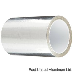 Color plata Non-Flammable lámina autoadhesiva de cinta de aluminio