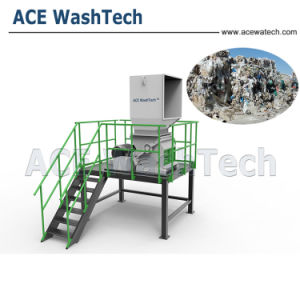 Plastik, der waschende entwässernzeile für ABS PS zerquetschend aufbereitet