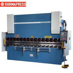 Wc67y Serie 100t Máquina de prensa de doblado de flexión de la placa de 3200