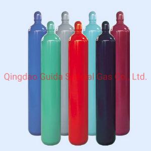 La norma ISO de oxígeno de acero sin costura hidrógeno argón, helio, nitrógeno de CO2 del cilindro el cilindro de gas 40loxygen