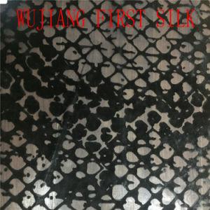 Le Nylon Burn out tissu de velours. Burn out tissu velours