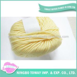 柔らかく自然な赤ん坊のタケ綿の編む割引ヤーンオンラインで