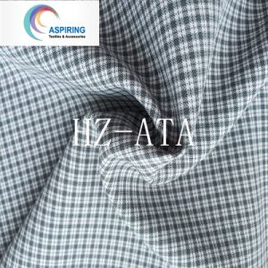 ワイシャツのためのポリエステルヤーンの染められた格子縞のMinimatt反紫外線ファブリック