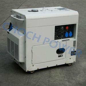 5.5kw防音のおおいのタイプ極度の無声発電機