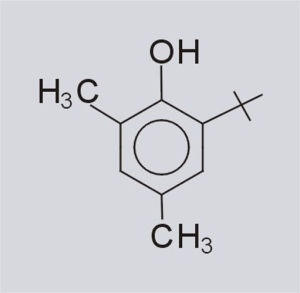 Antiossidante 2, 4-Dimethyl-6-Tert-Butyl fenolo (CAS Marina militare dell'OEM: 1879-09-0)