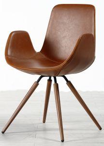 La calidad de China fabricante de muebles de comedor moderna silla con reposabrazos