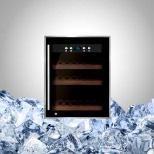 12本のびんのワインクーラーのカウンタートップの圧縮機の冷却