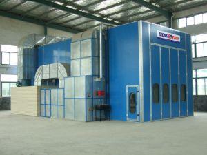 Cabine de pintura por spray automotivo para veículo com certificado CE do Barramento CAN