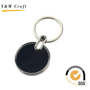 결혼 선물 (Y02586)를 위한 금속 열쇠 고리가 심혼 모양에 의하여 밖으로 속을 비게 한다