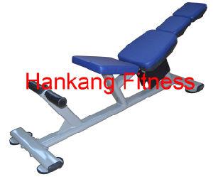 Strumentazione di forma fisica, ginnastica e strumentazione di ginnastica, Body-Building, concentrazione del martello, banco dell'arricciatura di ab (PT-611)