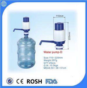 5 litro de água potável do vaso Manual do lado da bomba de água
