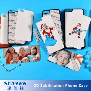 La sublimation Téléphone en plastique vierge à l'aide pour la chaleur Appuyez sur la machine