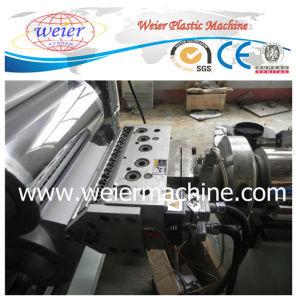 Feuille de bandes de chant en PVC avec fractionnement de l'extrudeuse de ligne de la machine