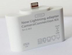 5 in 1 Camera Connection Kit für iPad Mini/iPad 4/iPad Air