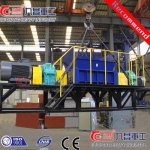Quad вал Бумагорезательная машина для измельчения древесных шин пластиковые PP резиновые