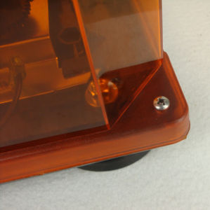 Clear Cover Rotator Mini Warning Light Bar for Car (TBD02451)