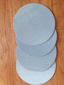 Forme ronde 304 Pack avec le point de l'écran de filtre à bord de soudage