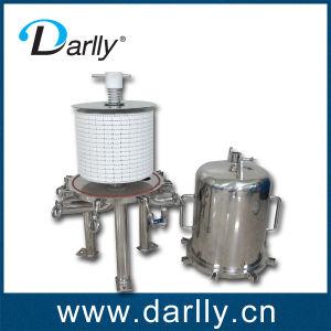 Retour Flushable lenticulaire lenticulaire ou cartouche pour la bière de filtration de module