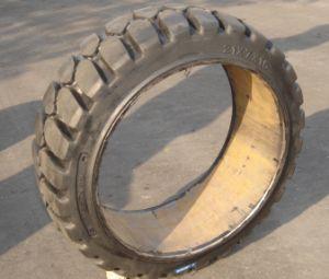21X7X15 Betätigen-auf Vollreifen, Gabelstapler-Gummireifen hergestellt worden in China