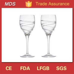 Preisliste-Großverkauf angestrichene Gaststätte-Wein-Gläser Kristall