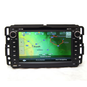 No aluguer de DVD Sistema Navigaion GPS para Chevrolet Tahoe