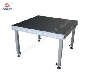 알루미늄 단계 또는 이동할 수 있는 연주회 단계 또는 휴대용 단계 플래트홈