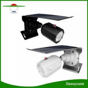 10 LED 360の調節可能な照射角度500lmの擬似モニタの形の太陽スポットライトの通りの機密保護ライト