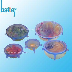 Empilable cache pot en silicone de qualité alimentaire