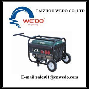 Wd2505-1ハンドル及び車輪が付いている携帯用ガソリン発電機