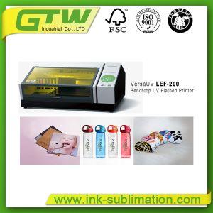 Stampante a base piatta da tavolino UV Lef-200 di Roland Versa per stampaggio di tessuti