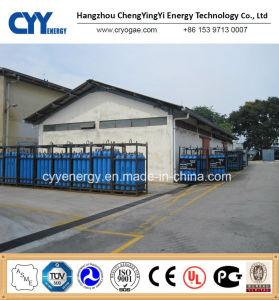 Azoto de oxigénio de alta pressão do cilindro de gás dióxido de carbono, de árgon