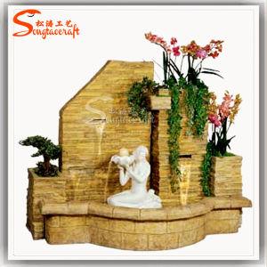 De Decoratie Rockery van het Beeldhouwwerk van Rockery van de Fontein van de Standbeelden van de tuin