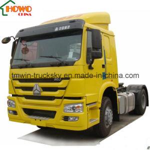 HOWO T5g 6*4 세미트레일러 견인 트럭