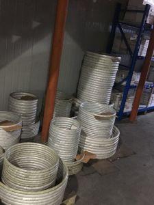 API van de goede Kwaliteit de Metaal Gezamenlijke Pakking van de Ring van het Ijzer van het Roestvrij staal Zachte