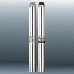 4インチの浸水許容ポンプ(QJD6/QJ6)、多段式試錐孔ポンプ、