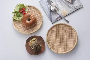 Comme la plaque en bois de mélamine/plaque de la plaque de bambou/ Dîner (NK13811-12)