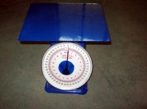 Pesatura dello Scale con Flat Tray