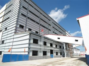 Structure de Fabrication de bâtiments préfabriqués en acier