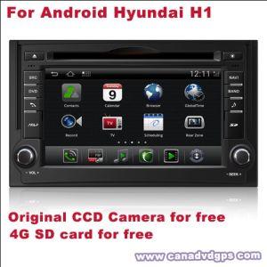 DVD-плеер для Android Hyundai H1, GPS-навигатор DVR 3G WiFi Камера CCD для карты памяти SD лучше всего наилучшего качества обслуживания бесплатная доставка+подарок