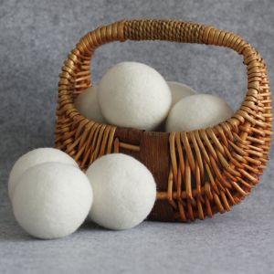 China In het groot Nieuw Zeeland XL Katoenen van 6 Pak Zak 100% de Zuivere Natuurlijke Gevoelde Drogere Ballen van de Wol van de Wasserij Organische