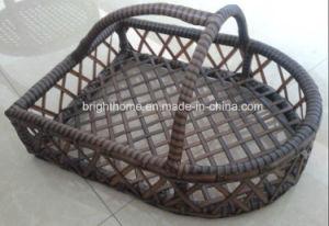 藤のホテルによって使用される靴のバスケット