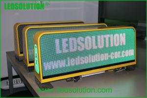 P5mm pleine couleur haut de Taxi affichage LED