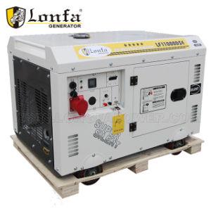 kupferner leiser Generator des 10 KVA-schalldichter Dieselgenerator-100%