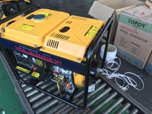 3kw öffnen Typen kleine Luft abgekühlten Dieselgenerator für Loch-Verkauf