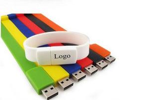 Vking Pulsera USB Flash Drive, 2GB/4GB / 8GB / 16Gb / 32GB /Pulsera de caucho de 64 GB unidad Flash USB, USB Pulsera de color
