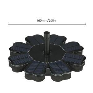 Для использования вне помещений на солнечной энергии воды Фонтан Насосы с резервной аккумуляторной батареи